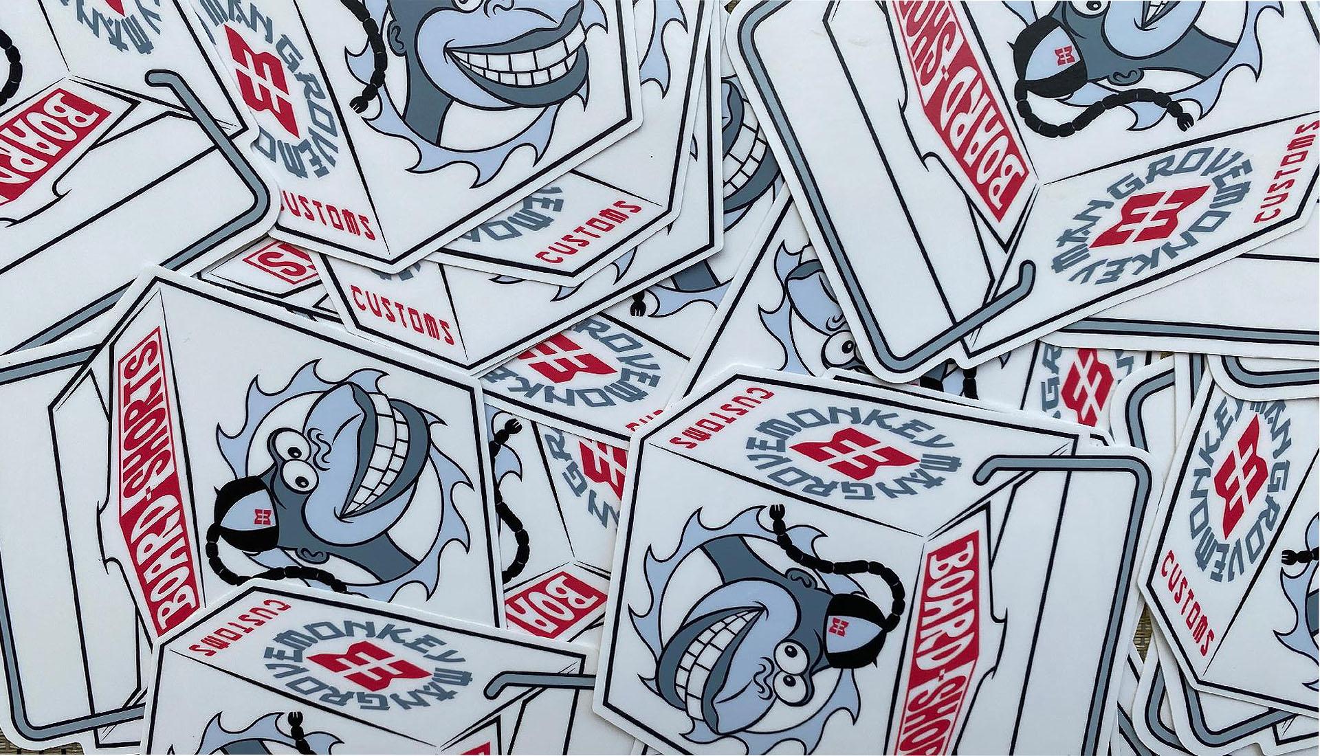 Take Out Box Sticker